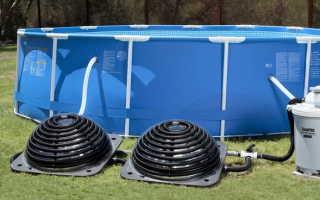 Как подогреть воду в бассейне?