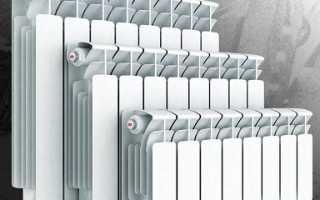 Типовые размеры радиаторов отопления. Алюминевые, стальные и др.