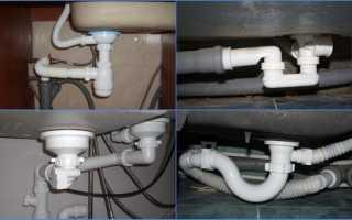 Гидрозатворы для канализации. Основные виды сифонов