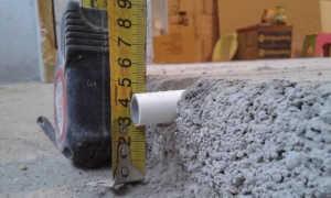 Толщина водяного теплого пола. Высота стяжки и другие элементы