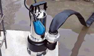 3 типа дренажных насосов для грязной воды. ТОП-5 моделей.