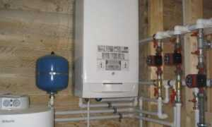 Одноконтурный газовый котел в отоплении частного дома