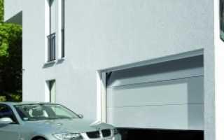 Секционные гаражные ворота. Особенности установки