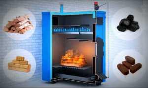 Отопление дома твердотопливным котлом в деталях