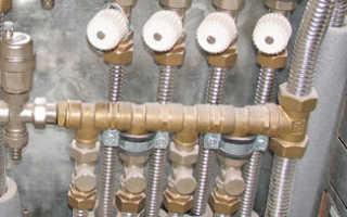 Как сделать водяной теплый пол от центрального отопления?