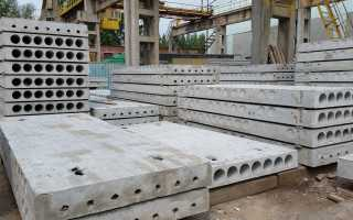 Технические характеристики пустотных плит перекрытия